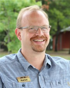 Aaron Ziebarth Executive Director of Joy El's Christian Camps in PA and Retreats in PA